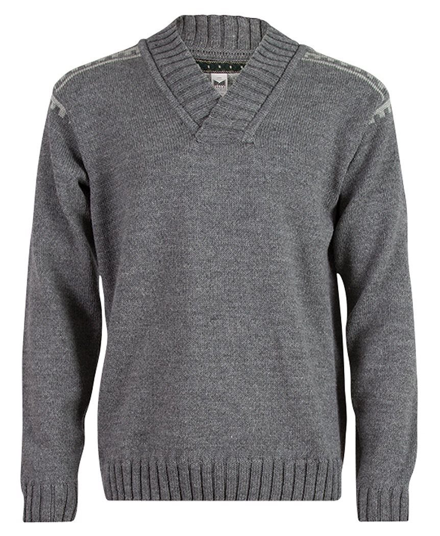 Alpina Masculine Sweater - Grey