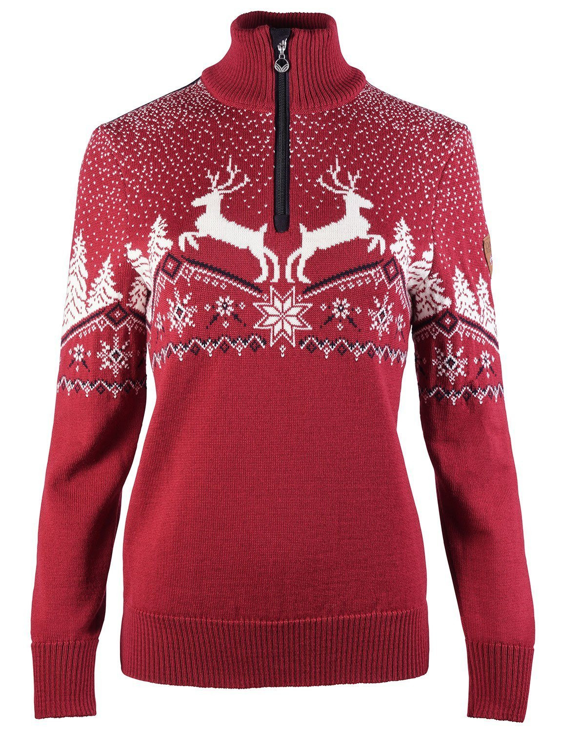 Christmas Feminine Sweater Rot
