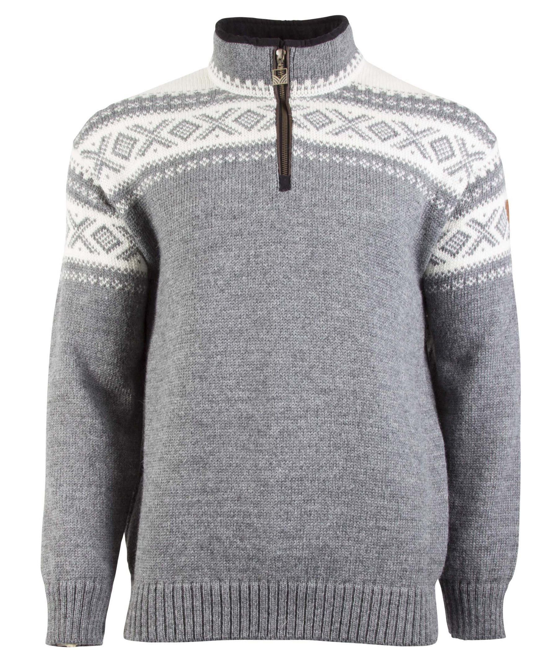 Cortina Half Zip Unisex Sweater Grau