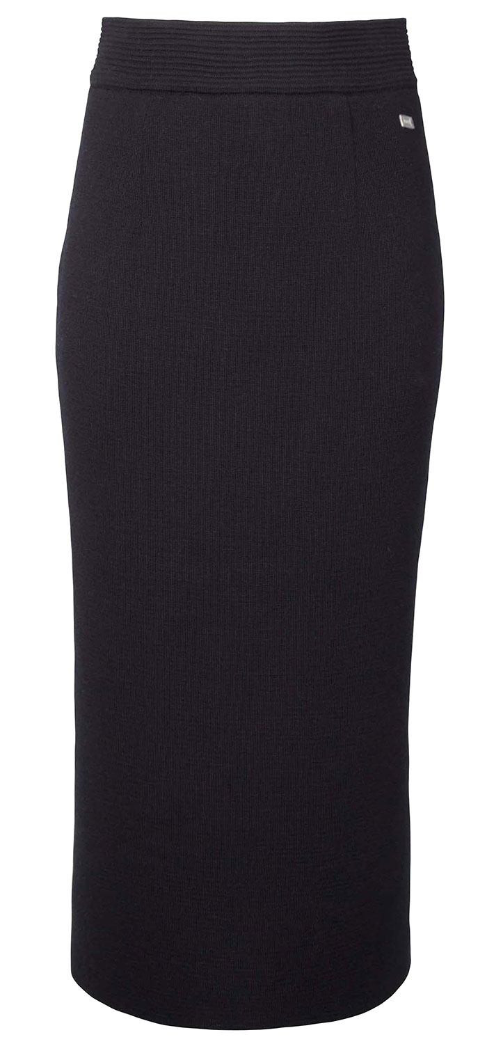 Dale Long Skirt Schwarz