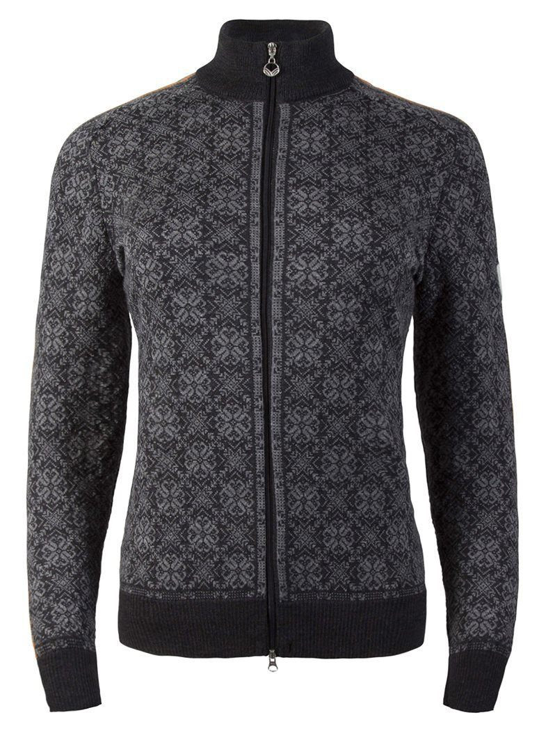 Franka Feminine Jacket - Dark Charcoal / Smoke / Orange Peel / Light Charcoal