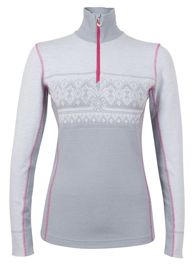 Rondane Feminine Sweater - Navy / White / Raspberry