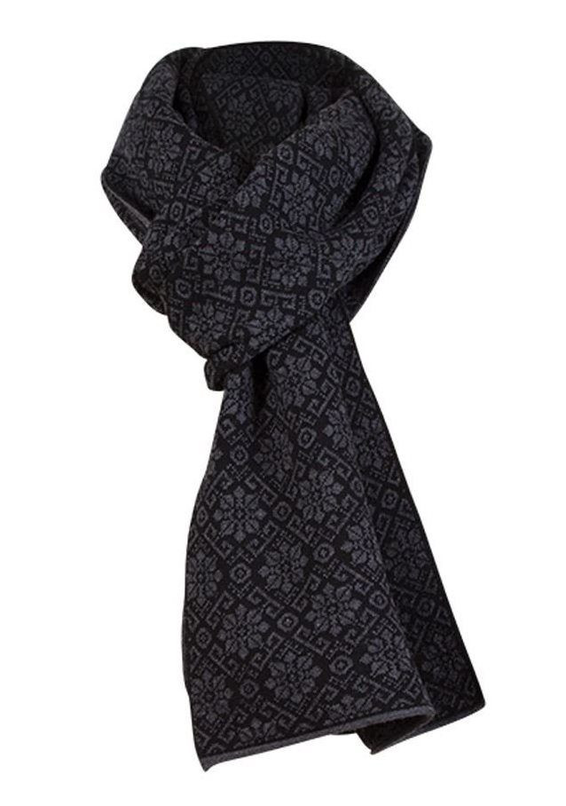 Sonja Scarf - Black Dark Grey