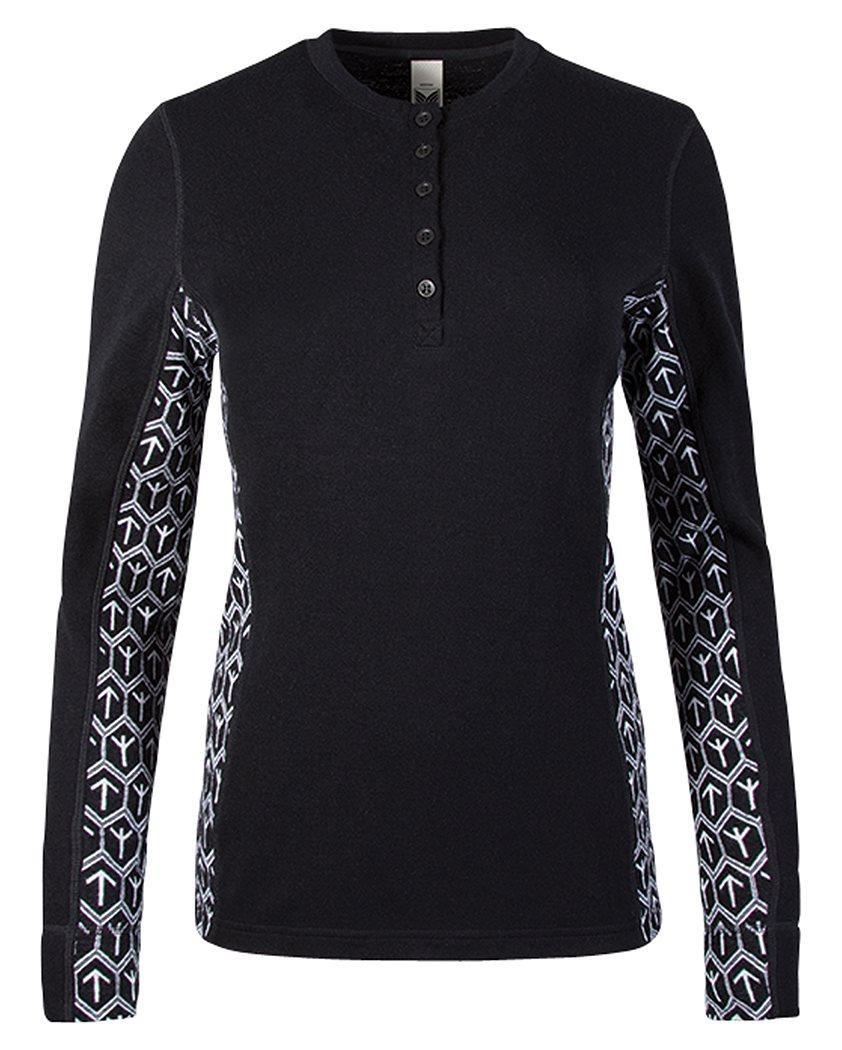 Viking Feminine Basic Sweater Schwarz