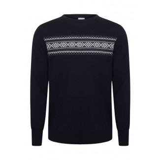 Sverre Masculine Sweater Dark Navy 1