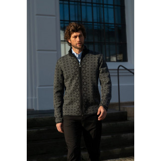 Christoffer Masculine Strickjacke Black