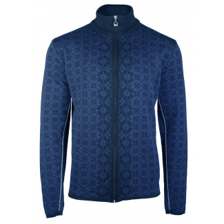 Christoffer Masculine Strickjacke Navy