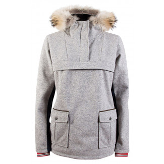 Fjellanorakk Feminine Knitshell - Grey