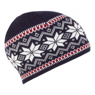 Garmisch Hat - Navy / Raspberry / Light charcoal / Off White