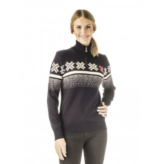 Olympic Passion Feminine Sweater Navy