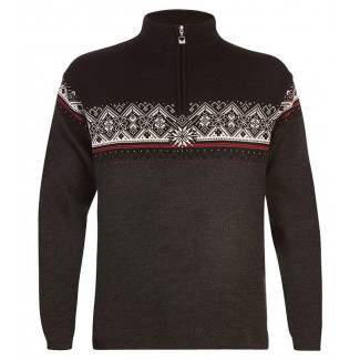 St. Moritz Masculine - dale-of-norway-st-moritz-masculine-dark-charcoal-raspberry-black-off-white