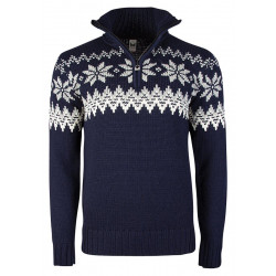 Myking Masculine Sweater Navy