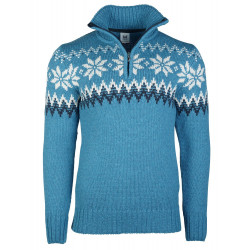 Myking Masculine Sweater Türkis