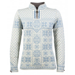 Peace Feminine Sweater Hellblau